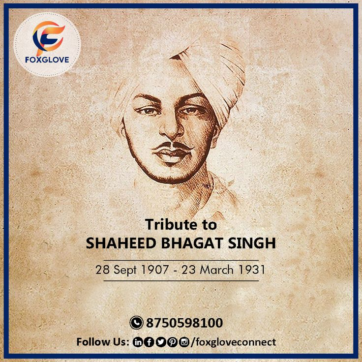 Today is 28 Sept, Birthday Of Shaheed BHAGAT SINGH. One of