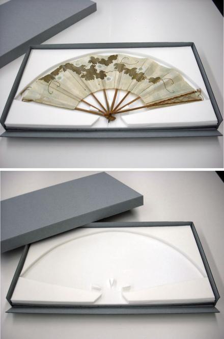 Archival fan storage