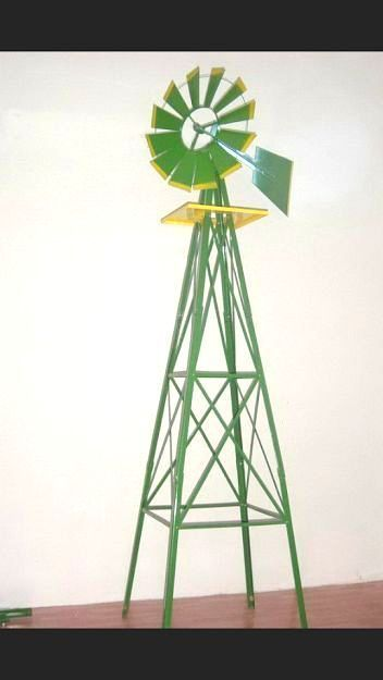6ft Green And Yellow Ornamental Windmill Garden | Windmill, Garden Windmill  And Gardens