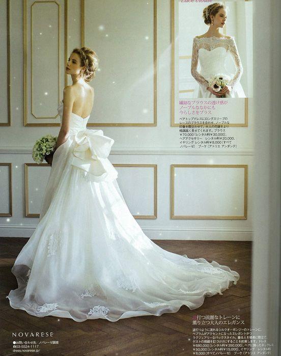 #NOVARESE #25ansウエディング 大人婚 #wedding #dress #flower #wedding dress #ノバレーゼ #ウエディング #ウエディングドレス