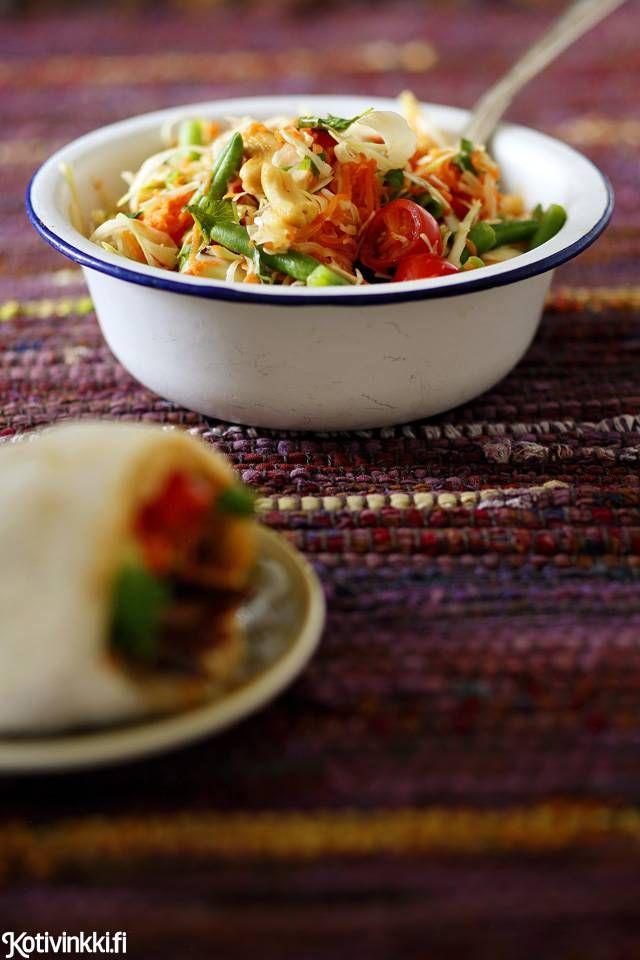 Som tam -salaatti | Kotivinkki