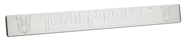 Transformers Decepticon 2010 - 2011 Camaro Chrome Door Sills - Door Sill kit designed to compliment the style of your Camaro. These door sills are officially licensed and has the Transformers Logo engraved on the surface. Automotive > Automotive Accessories. Weight: 2.00