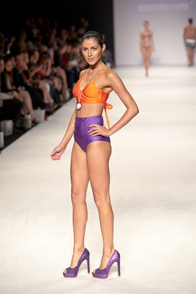 The first of our swimwear reviews from MBFWA - 2012 this time of Kooey Swimwear where bright colours and all things Australian ruled. http://tinyurl.com/7yenczr