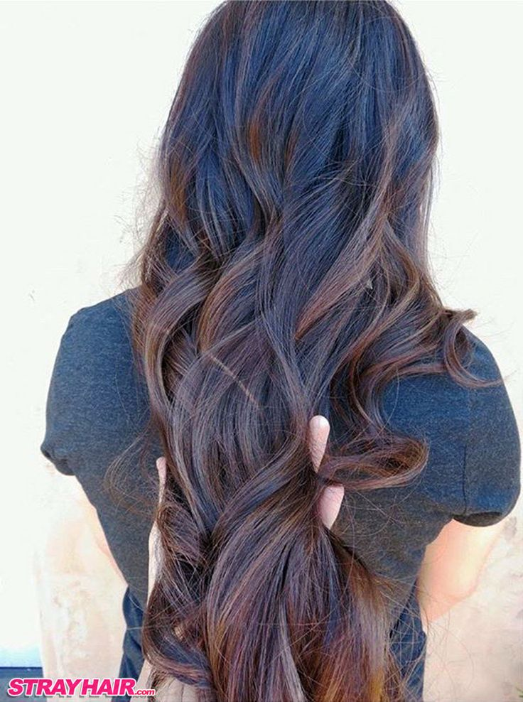 toffee balayage warm brunette hair color