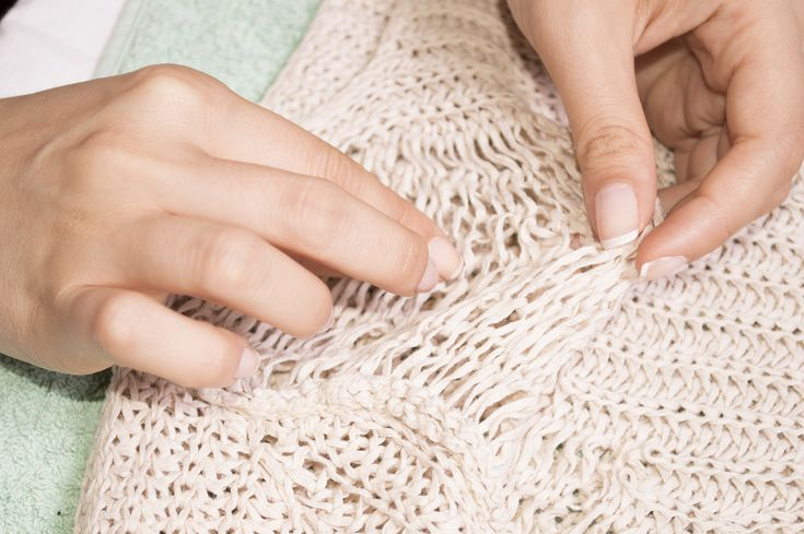 No matter how well you take care of your knit or crocheted sweaters, there's always a potential for them to stretch or lose shape. There are measures you can take to shrink a stretched sweater. You can either shrink the whole sweater down...