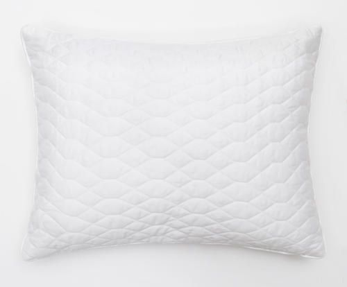 #Cuscino arredo in raso di cotone diamante bianco colore Bianco  ad Euro 25.00 in #Mama srl #Textilesrugs cushionscushion