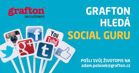Grafton hledá Social Guru !