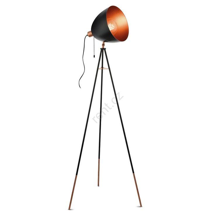 Eglo 49386 - Stojací lampa CHESTER 1xE27/60W/230V