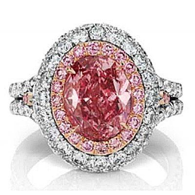 8億円のピンクダイヤ、世界11カ国の高級ジュエラーが東京ビッグサイトに集結