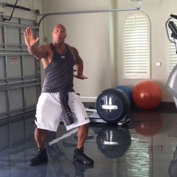 Dwayne ''The Rock'' Johnson's Latest Dance Video Is Everything!  Dwayne Johnson, Dancing, Instagram, Hit the Quan