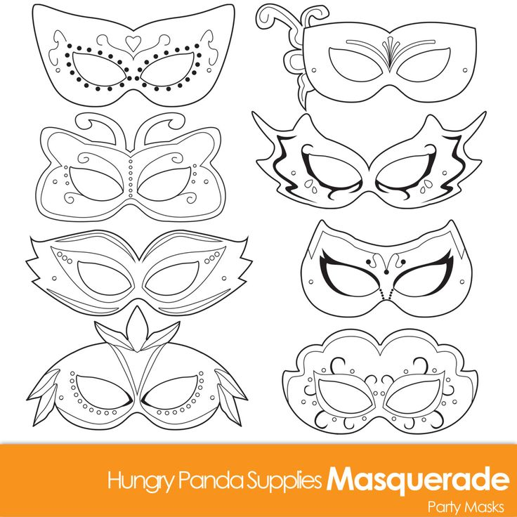 25+ Unique Masquerade Mask Template Ideas On Pinterest Mardi   Printable  Mask Template