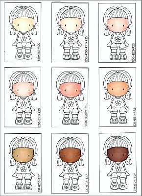 Copic Oz Tutorial Choosing Skin Colour Combos by Mandi-Lee