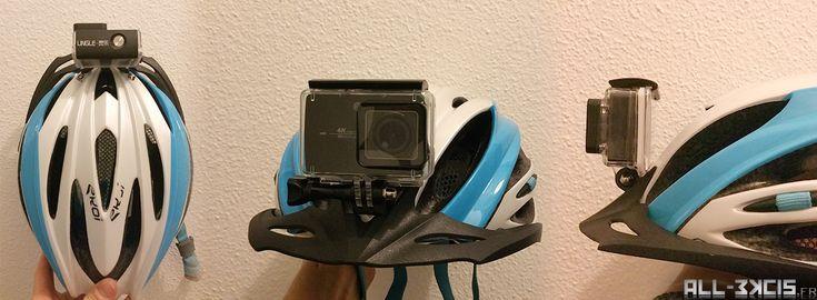 Comment fixer (discrètement et solidement) une camera type Gopro sur un casque de vélo, tutoriel simple en quelques étapes rapides