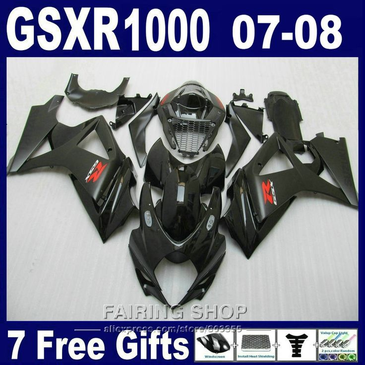 (344.10$)  Watch more here  - Motorcycle Hot sale fairings For Suzuki GSXR 1000 07 08 black fairing kit GSXR1000 2007 2008 PG56