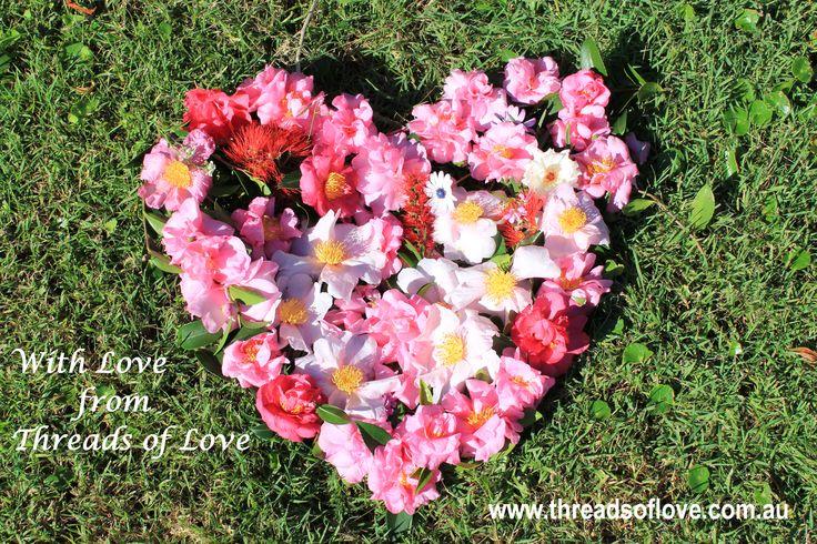 A flowered Heart