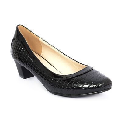 Buy Carlton London Women's Janelle Black Pump's Online at Best Prices.