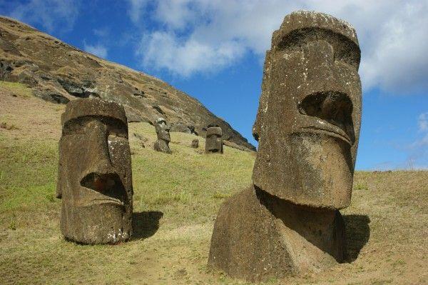 """Hey.  Dum-dum....""   Easter Island"