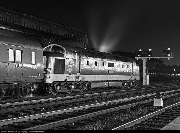D9017 British Rail Class 55 Deltic Co-Co at York, United Kingdom by Brian Stephenson