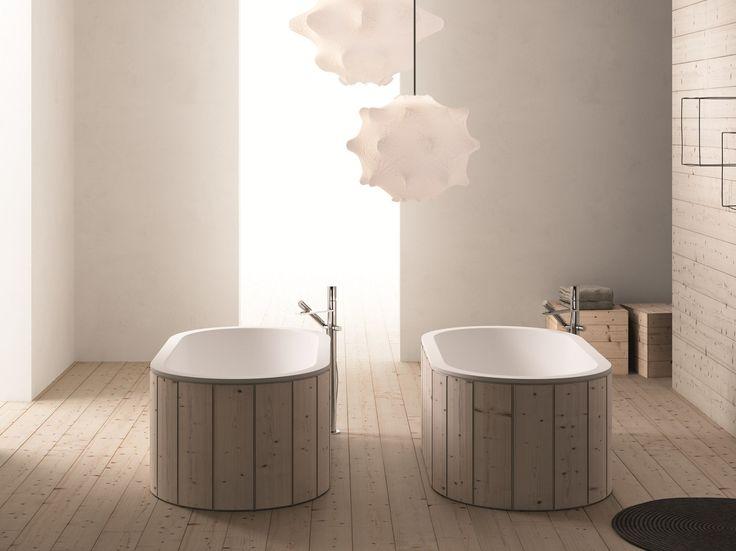 vasca da bagno centro stanza in livingtec cibele by ceramica cielo design studio apg