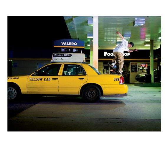 Josh Kalis Backside Noseblunt On Cab Los Angeles by BLABACPHOTO