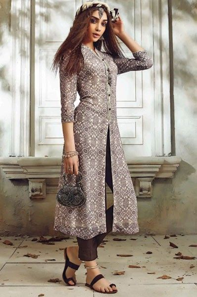 Designer embroidered party wear straight georgette salwar for New check designs