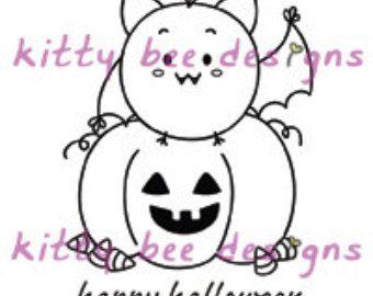 Halloween Mr. Bitty Digi stempel