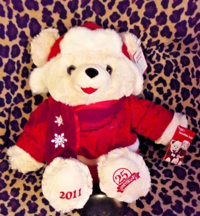 2011 Walmart Christmas Snowflake LARGE, Teddy Bear BOY Dan Dee 25th Anniversary  #DanDee