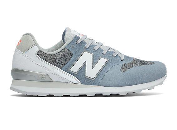 new balance wl574 w chaussures bleu rose casual classique