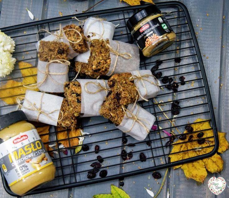 Orzechowe batony bezglutenowe - VeganLove - blog wegański z przepisami - wege przepisy