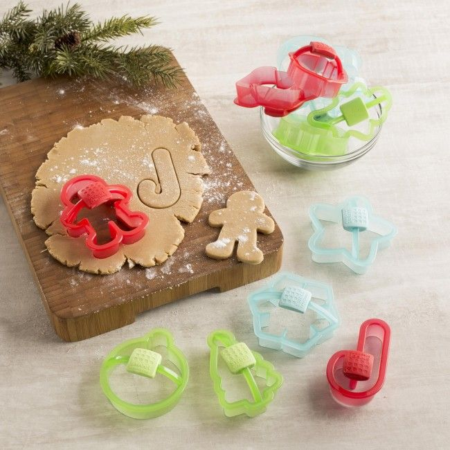 Make fun and delicious cookies this Christmas with Good Cook Sweet Creations cookie cutters.