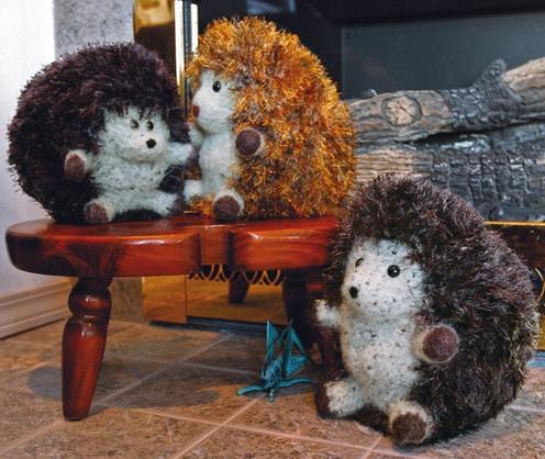 Fiber Trends--Debbie Radtke--Huggable Hedgehogs Crafty ...