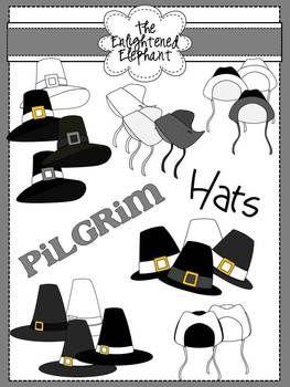 Free Pilgrim Hats Clip Art