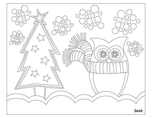 Printable Coloring Winter Pages : 377 best christmas coloring pages images on pinterest