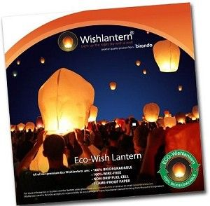 White Eco Wish Lantern® (10 Pack)