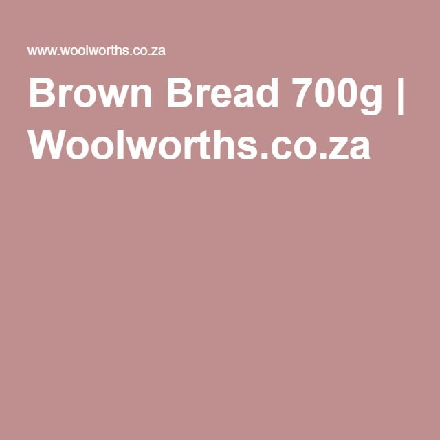 Brown Bread 700g | Woolworths.co.za