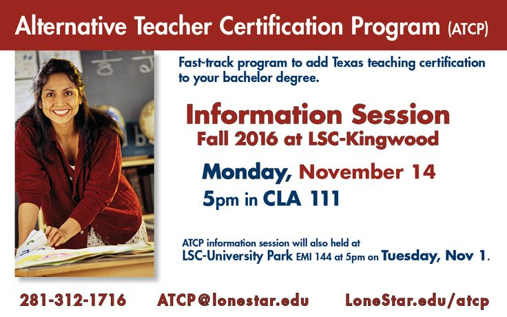 Alternative Teacher Certification Program information session! 11/14, 5pm, CLA 111 at Be a Mentor, Earn a living allowance and ear and education awards, Become an AmeriCorps member #LSCKingwood #StartCloseGoFar