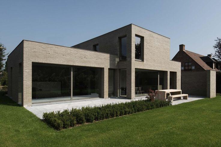 Meer dan 1000 idee n over moderne architectuur woning op pinterest moderne architectuur - Moderne interieurarchitectuur ...