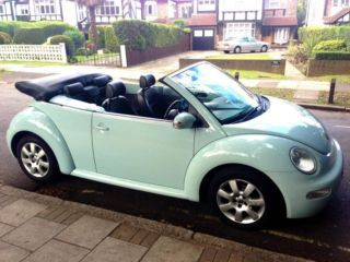 Love this colour New Beetle VW, ahhhhh! <3