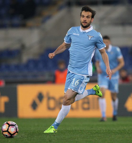 Marco Parolo of SS Lazio in action during the Serie A match between SS Lazio and FC Torino at Stadio Olimpico on March 13, 2017 in Rome, Italy.