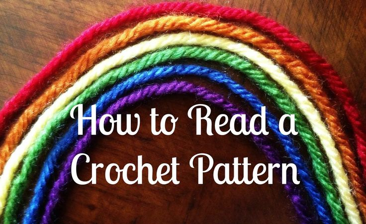 How To Read Crochet Patterns : 1000+ images about How to Read a Crochet Pattern on Pinterest