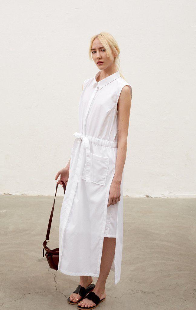 Rodebjer Devna Dress - White
