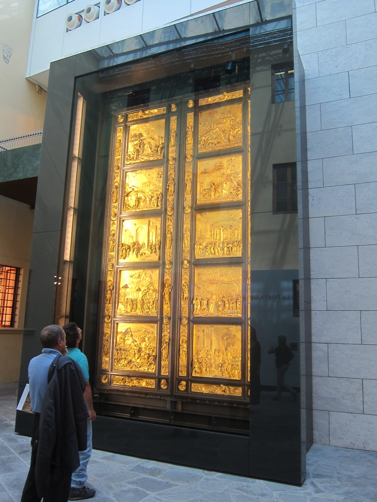 Newly restored Doors of Paradise Florence It. & 10 best Front door restoration images on Pinterest | Front doors ... pezcame.com