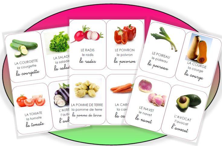 Les imagiers - (page 2) - Pépinette à l'ecole légumes
