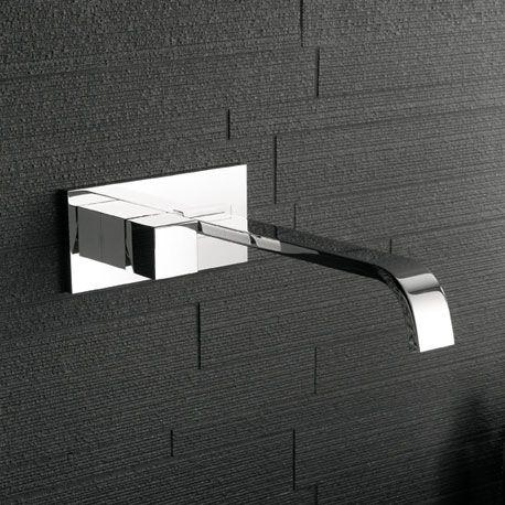 Collezione di rubinetteria Dream, volumi geometrici, design contemporaneo - Signorini Rubinetterie - miscelatore lavabo