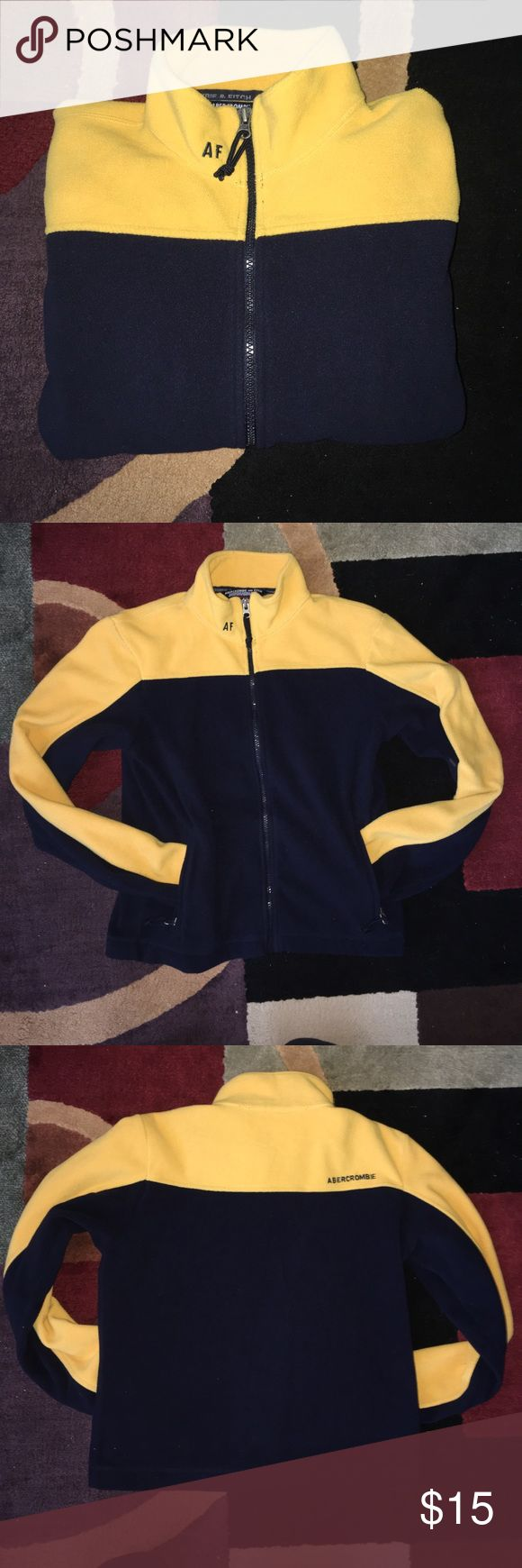 Abercrombie and Fitch fleece zip up! 🎉 One of a kind! Looks cute on. Great condition and warm Abercrombie & Fitch Tops Sweatshirts & Hoodies