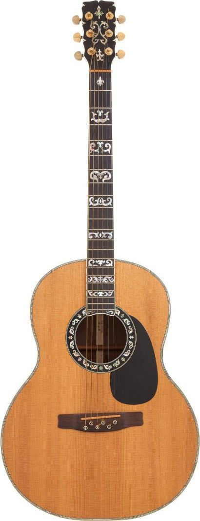 Elvis acoustic guitar