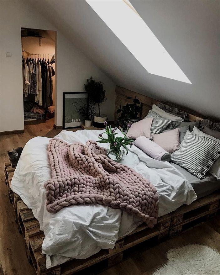 Wooden Pallet Beds Ideas Bedroomideas Bedroom Design