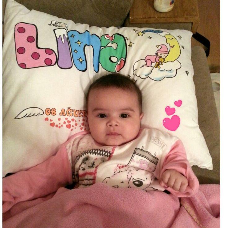Bebek yastığı isme ozel