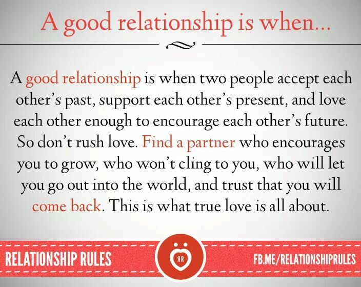 what are some good relationship rules