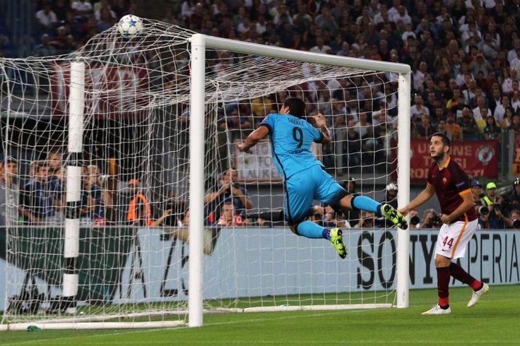 luis suarez 2016 | ligue des champions 2016, resultat, soiree, as rome, roma, barcelone ...